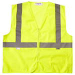Xtreme Visibility Class 2 Yellow Mesh Safety Vest