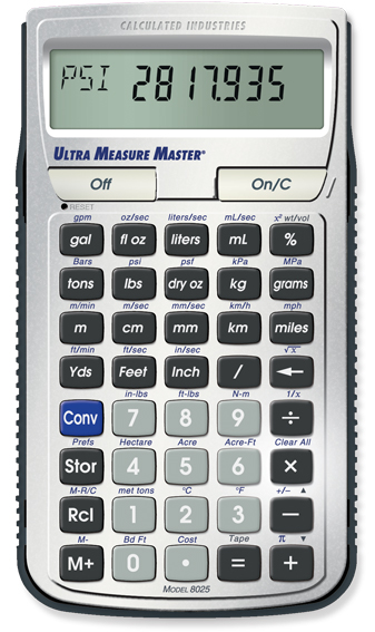 Calculated Industries Ultra Measure Master, #8025