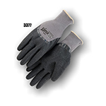 Majestic Flexgrip Gloves, BW Logo LG