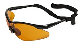 ERG Maltese Safety Glasses Orange Lens