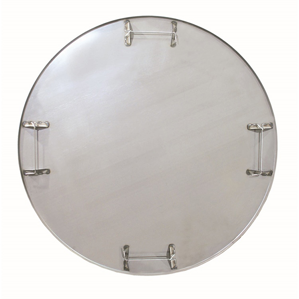 "60"" Diameter 6-Blade Pro-Form Flat float pan w/Safety Rod"