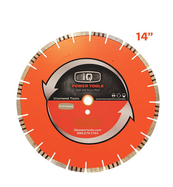 IQ Power Tools- Silent 14in Blade