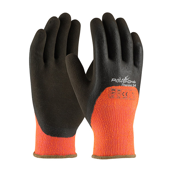 HiVis Seamless Knit Acrylic Gloves