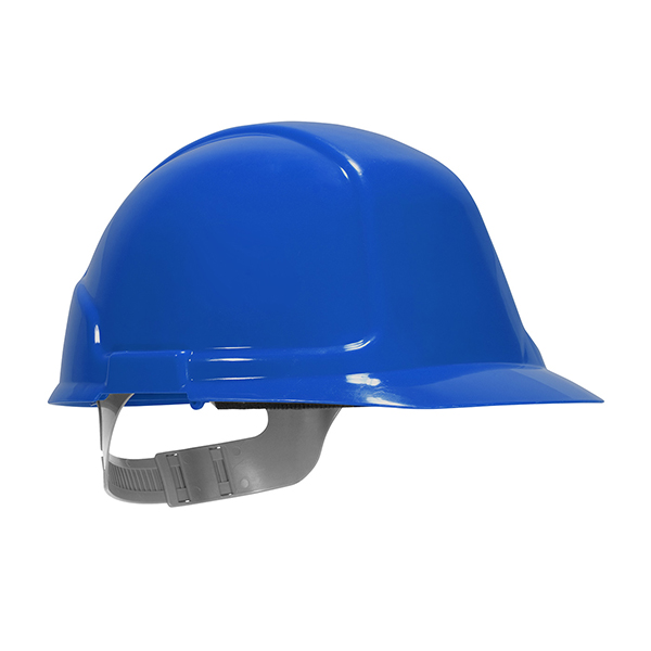 Blue Vented Hard Hat