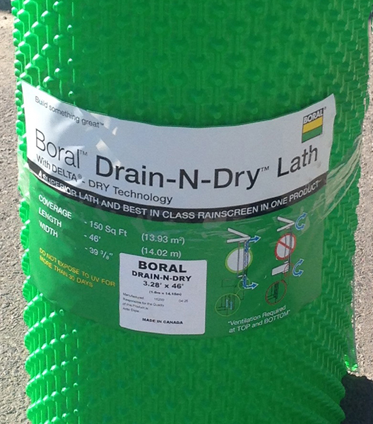 Drain N Dry Lath Rain Screen