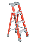 fiberglass cross step ladder