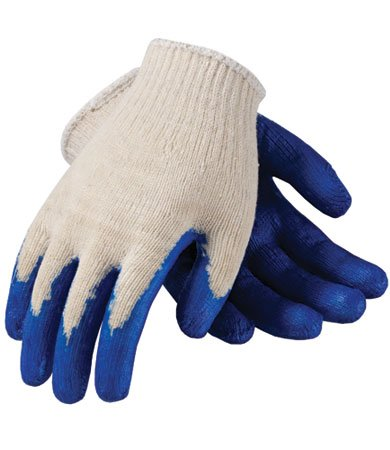 Polyester Gloves with Latex