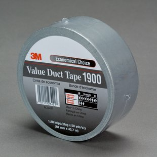 3M™ Value Duct Tape 1900 Silver