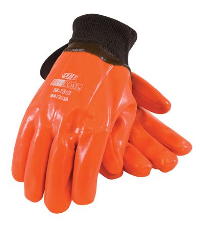 HiVis Insulated PVC Dipped Glove