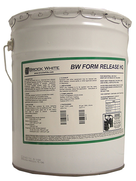 BW Form Release HQ 5 Gallon