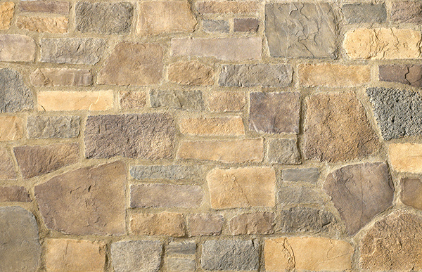 Cultured Stone® Ancient Villa Ledgestone™, Toscana, Handipak, Flat, 11.25 SF per Box