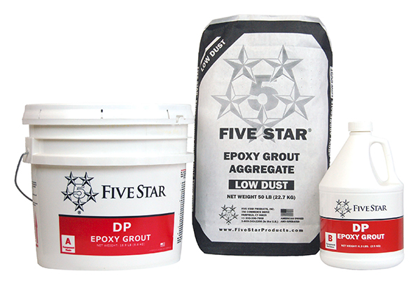 Five Star DP Epoxy Grout, 2 Cf Kit
