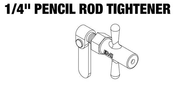 EMI Rod Tightener 1/4""