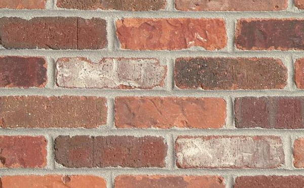 General Shale Cambridge 6060 Rumbled Edge Brick