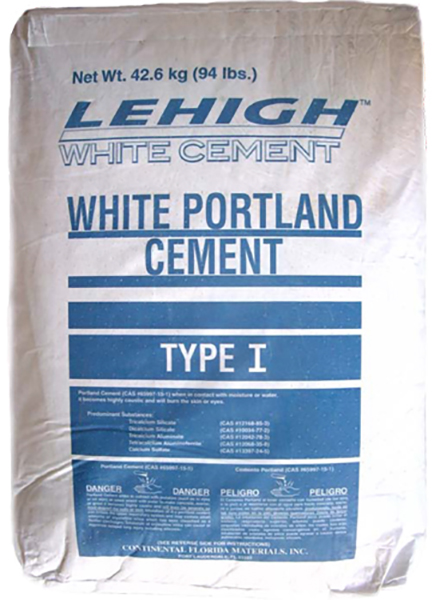 Lehigh Type I White Portland Cement