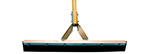 Magnolia Brush 4124-TP Rubber Squeegee with tapered steel frame