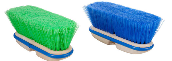 Magnolia Brush Vehicle Wash 3034 and 3022, blue and green