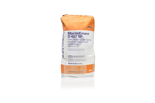 BASF MasterEmaco® Spray Mortar S 487 SP 50 lb Bag