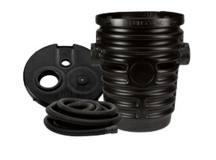 Prinsco Drain Sump Plastic with Cover