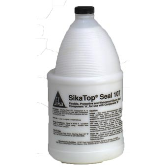 Sika 91147 SikaTop Seal 107 white bottle